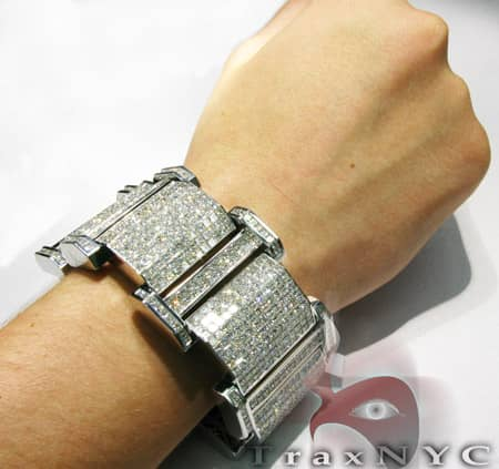 Princess Cut XXXL Bracelet Diamond