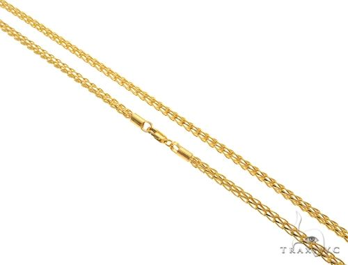 22K Yellow Gold Open Wheat Link Chain 20 Inches 3.7mm 22.0 Grams 63588 Gold