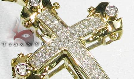 5 Bezel Cross Diamond