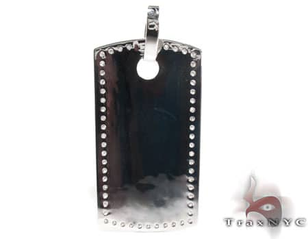 Liner Dog Tag Pendant Metal
