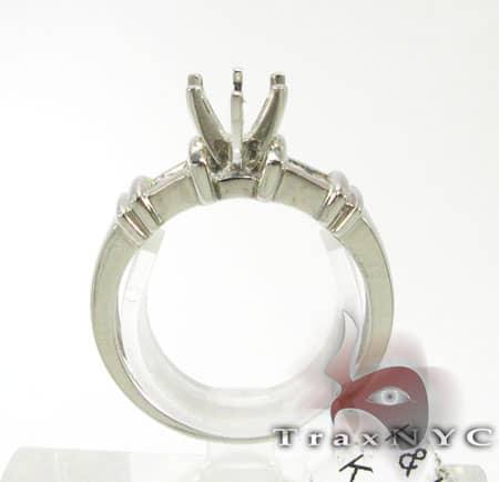 Ladies 4 Stone Semi Mount Ring Engagement