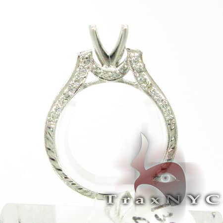Designer Semi Mount Ring Engagement
