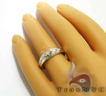 4 Solitaire Semi Mount Ring Engagement
