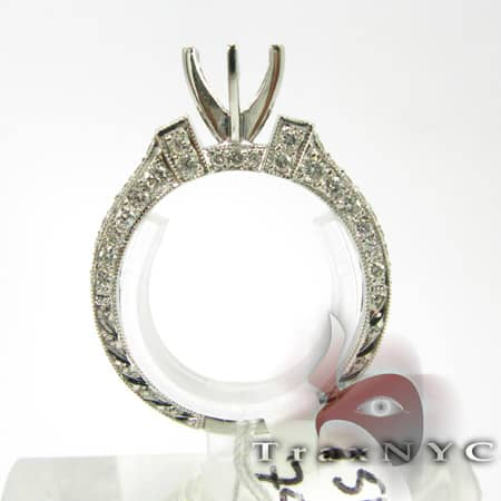 Queens Semi Mount Ring Engagement