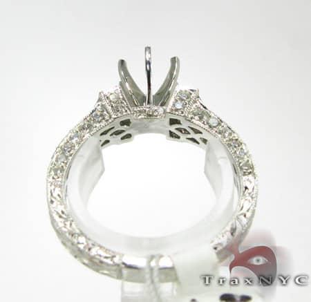 Queens Semi Mount Ring Engagement