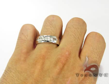 Mens Diamond Wedding Band Style