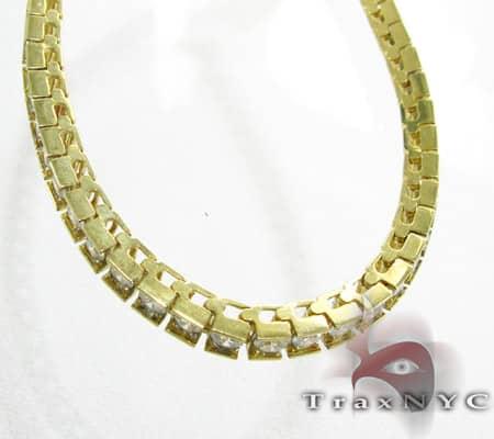 Yellow Gold DRS Bracelet Tennis