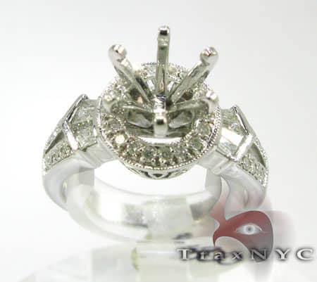Ladies 2 Set Semi Mount Ring Engagement