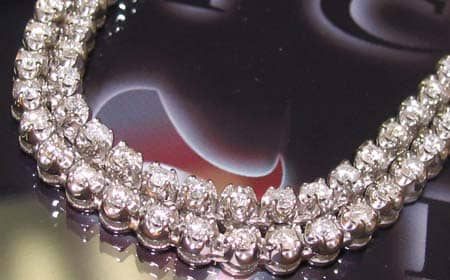 DX Diamond Chain 32 Inches 6mm 60 Grams Diamond