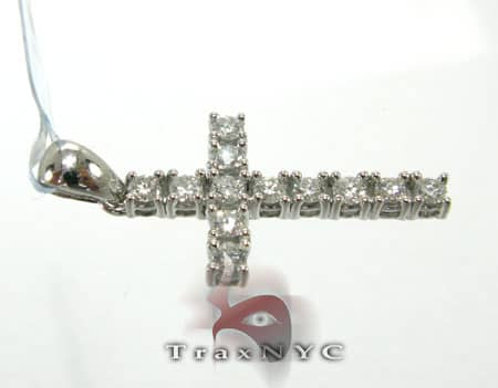Solitaire Cross Crucifix Diamond