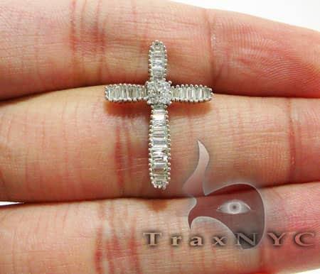 Blade Cross Crucifix Diamond