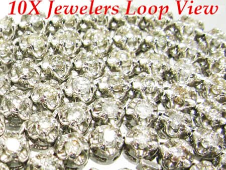Ultra Round Cut Chain 33 Inches, 4.5mm, 48 Grams Diamond