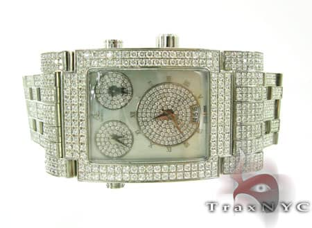 Mens JACOB & Co. Fully Iced Diamond Watch Hip Hop Diamond Watches