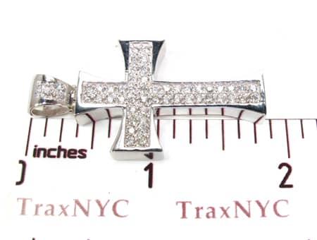 Biker Cross Crucifix Diamond