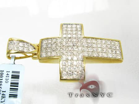 Mini Pave Premier Cross Diamond