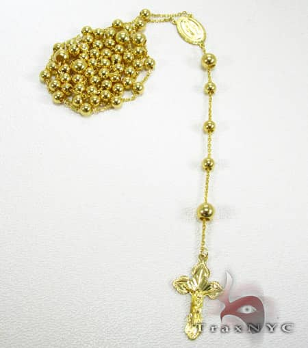 Yellow Gold Rosary Beads 2 Rosary