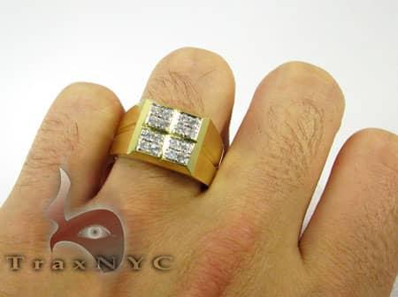 Round Quad Ring Stone