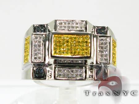 M.C. Rectangle Ring Stone