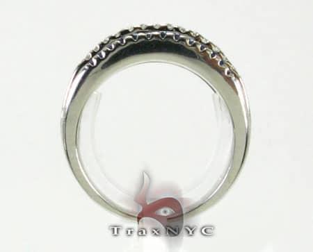2 Row Sapphire Ring Anniversary/Fashion