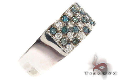 Checker Diamond Ring Stone