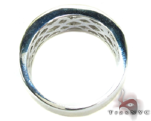 4 Row Icy Ring 45611 Stone