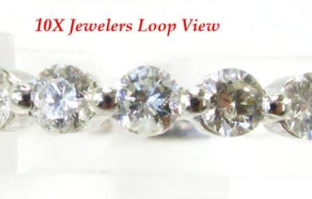 Ladies Diamond Eternity Band Wedding