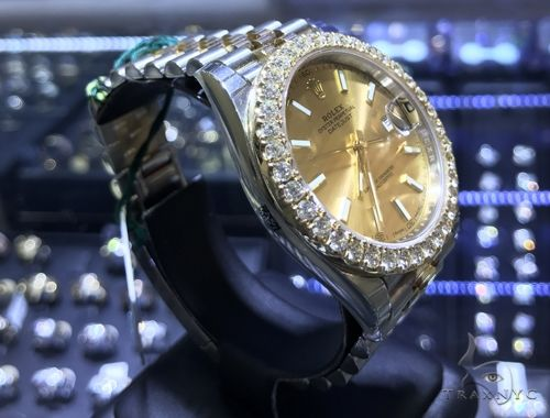 41mm DateJust Diamond Rolex Watch Jubilee 63870 Diamond Rolex Watch Collection