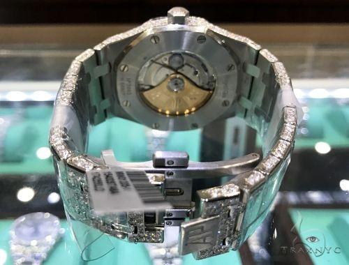 41mm Royal Oak Audemars Piguet Diamond Stainless Steel Watch 63891 Audemars Piguet Watches