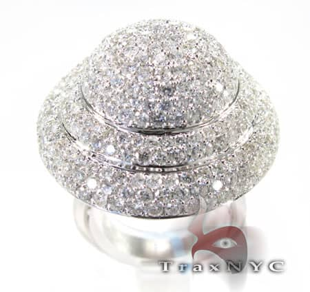 Ladies UFO Ring Anniversary/Fashion