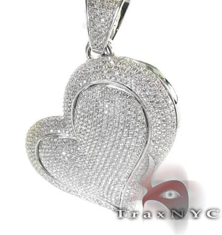 Juicy Heart Pendant Stone