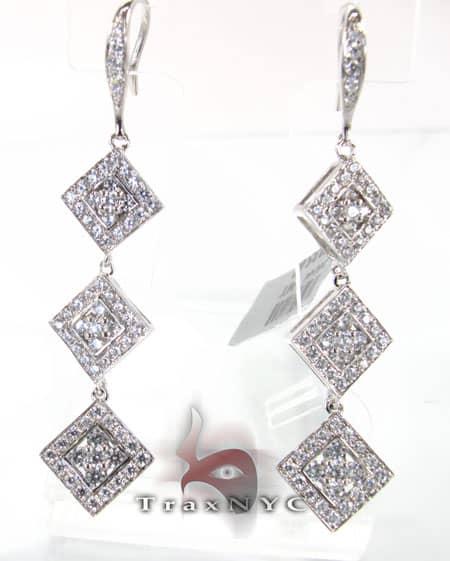 Tetra Earrings Stone