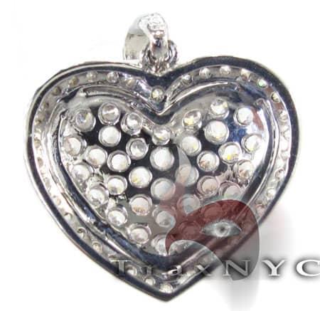 Heart Pendant 2 Stone