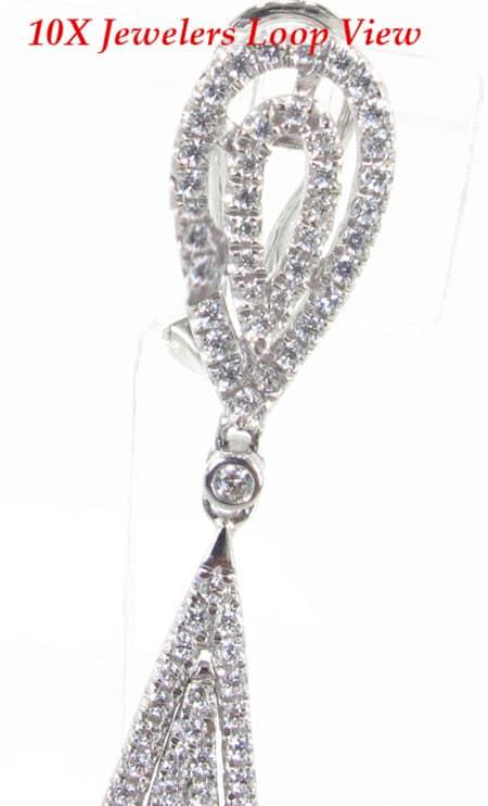 Romance Earrings 2 Stone