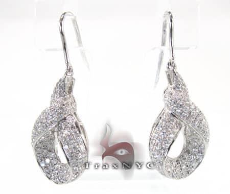 Ribbon Earrings Stone