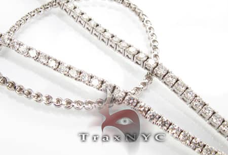 Black Diamond Iced Cage Necklace Diamond