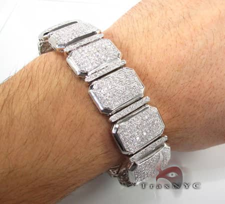 Iced Cushion Bracelet Diamond
