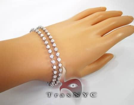 Iced Bezel Bracelet Diamond