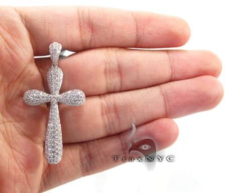 Frozen Arctic Cross Crucifix Style