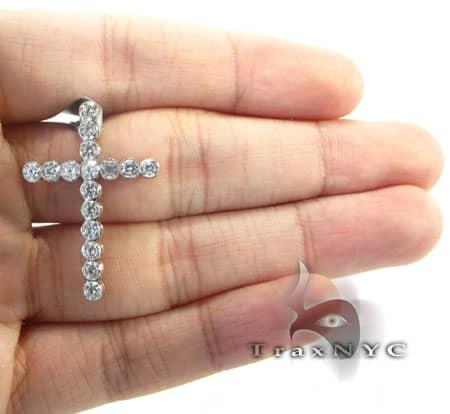 Iced Bezel Cross Crucifix Style