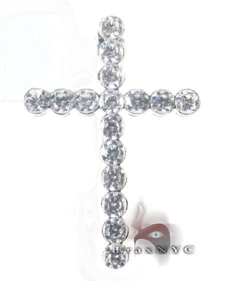 Frozen Bezel Cross Crucifix Style