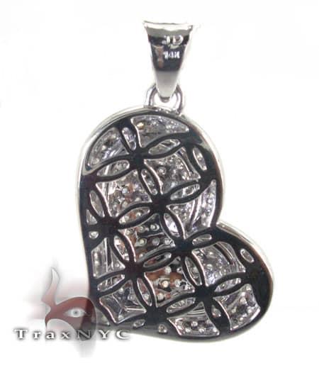 Frozen Heart Pendant Stone