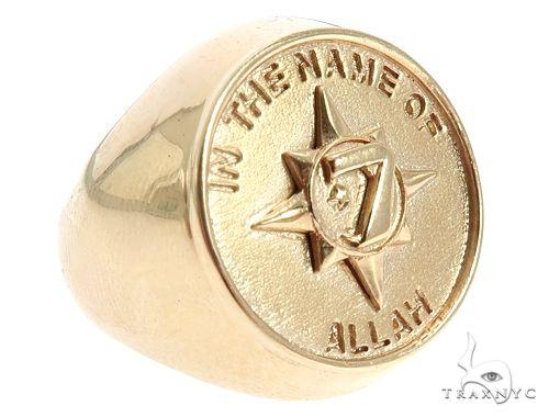 5 Percent Universal Flag Ring 65818 Metal