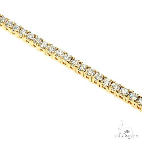 5 Pointer Parcel Diamond Tennis Bracelet 66786 Diamond