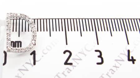 Frozen D Pendant 2 Metal