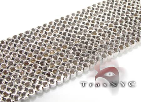 10 Row Toni Bracelet Diamond