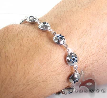 Evil Eye Bracelet 3 Gold
