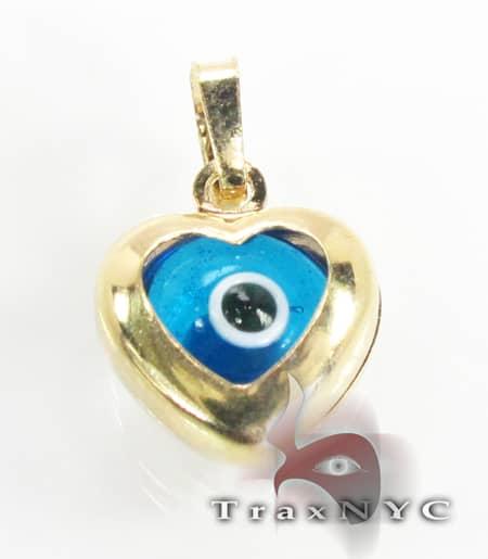 Evil Eye Charm 4 Metal