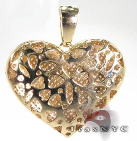 XL Heart Pendant Stone