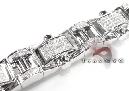 Pave Link Bracelet Diamond