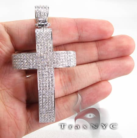 Geo Cross Crucifix Diamond